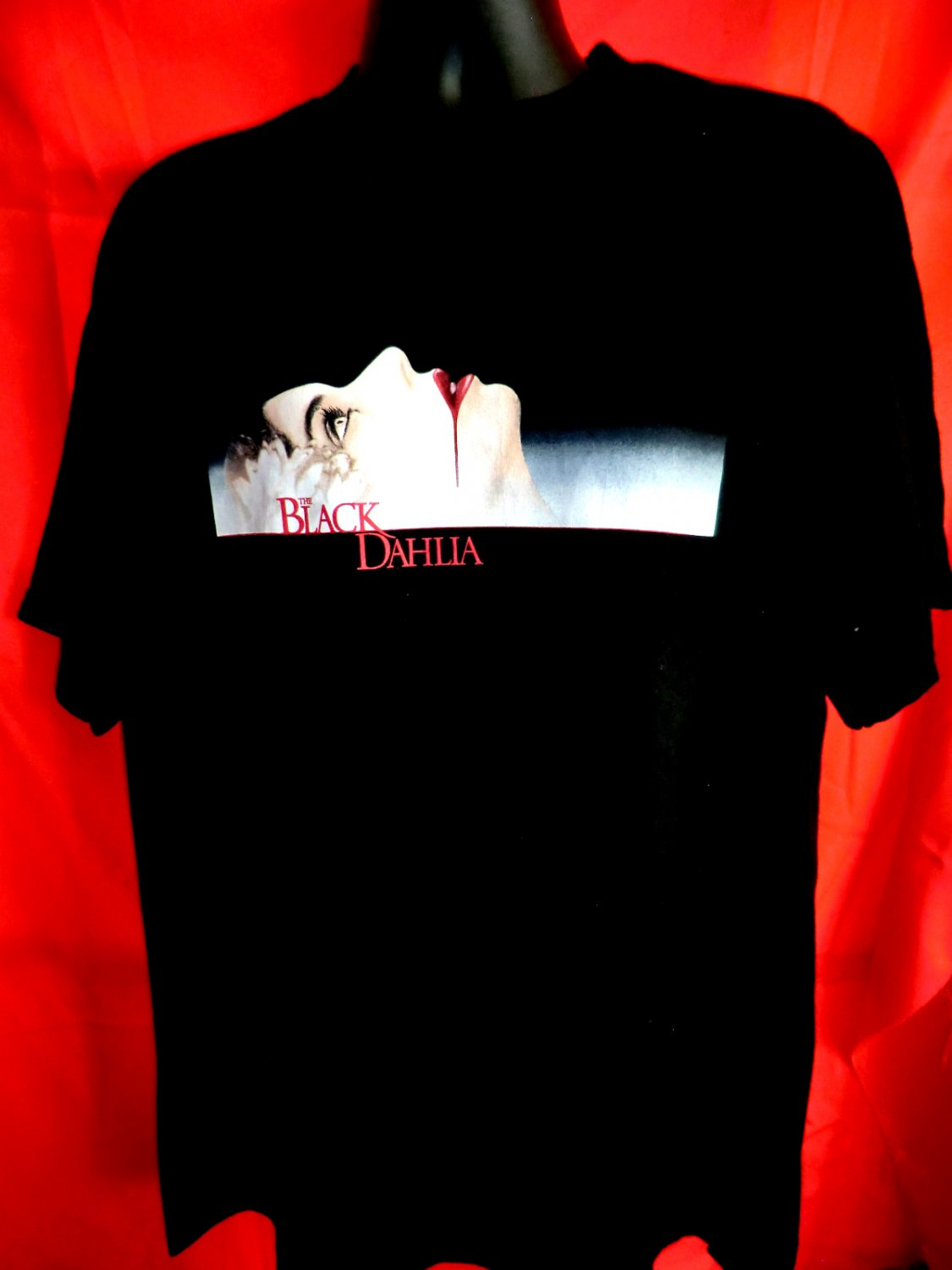 Black Dahlia T-Shirt Size XL