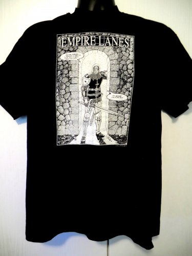 Rare 1992 EMPIRE LANES Comic Book T-Shirt Size Large