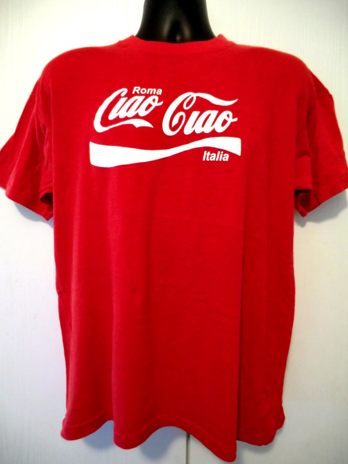 SOLD! Vintage Ciao Ciao Italy / Italia Rome / Roma T-Shirt Size Large