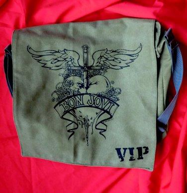 Rare BON JOVI VIP Messenger Bag