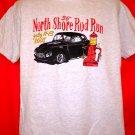 North Shore Rod Run T-Shirt Size Large