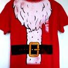 Santa T-Shirt Size Large  Kris Kringle Christmas Party Tee