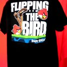 Flipping the Bird ANGRY BIRDS T-Shirt Size XL
