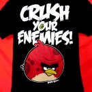 Crush Your Enemies Angry Birds T-Shirt Size Large