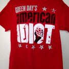 Green Day American Idiot T-Shirt Size Large New York City