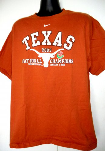 University of Texas T-Shirt Size XL Rose Bowl National Champions 2006