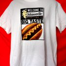 Welcome To JOHNSONVILLE Hot Dog T-Shirt Size Large