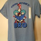 Cool Story Bro Cat In the Hat T-Shirt Size Medium