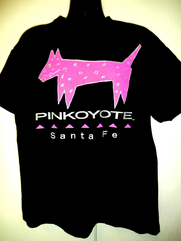 Pink Coyote Santa Fe T-Shirt Size XL