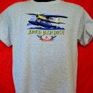 Kids's T-Shirt JUNIOR BUSH PILOT Alaska Size Large