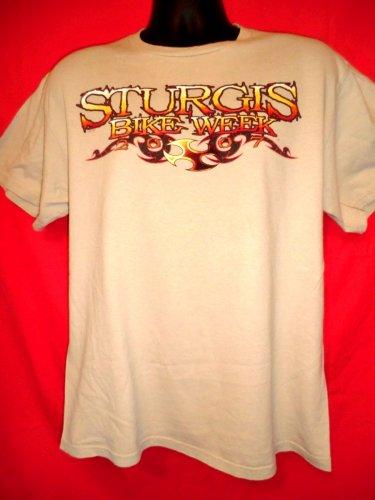 Sturgis Motorcycle Rally Bike Week 2007 T-Shirt Size Medium