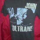Rare John COLTRANE  Jim Marshall Size SMALL / MEDIUM Retro T-Shirt Berkeley 1960