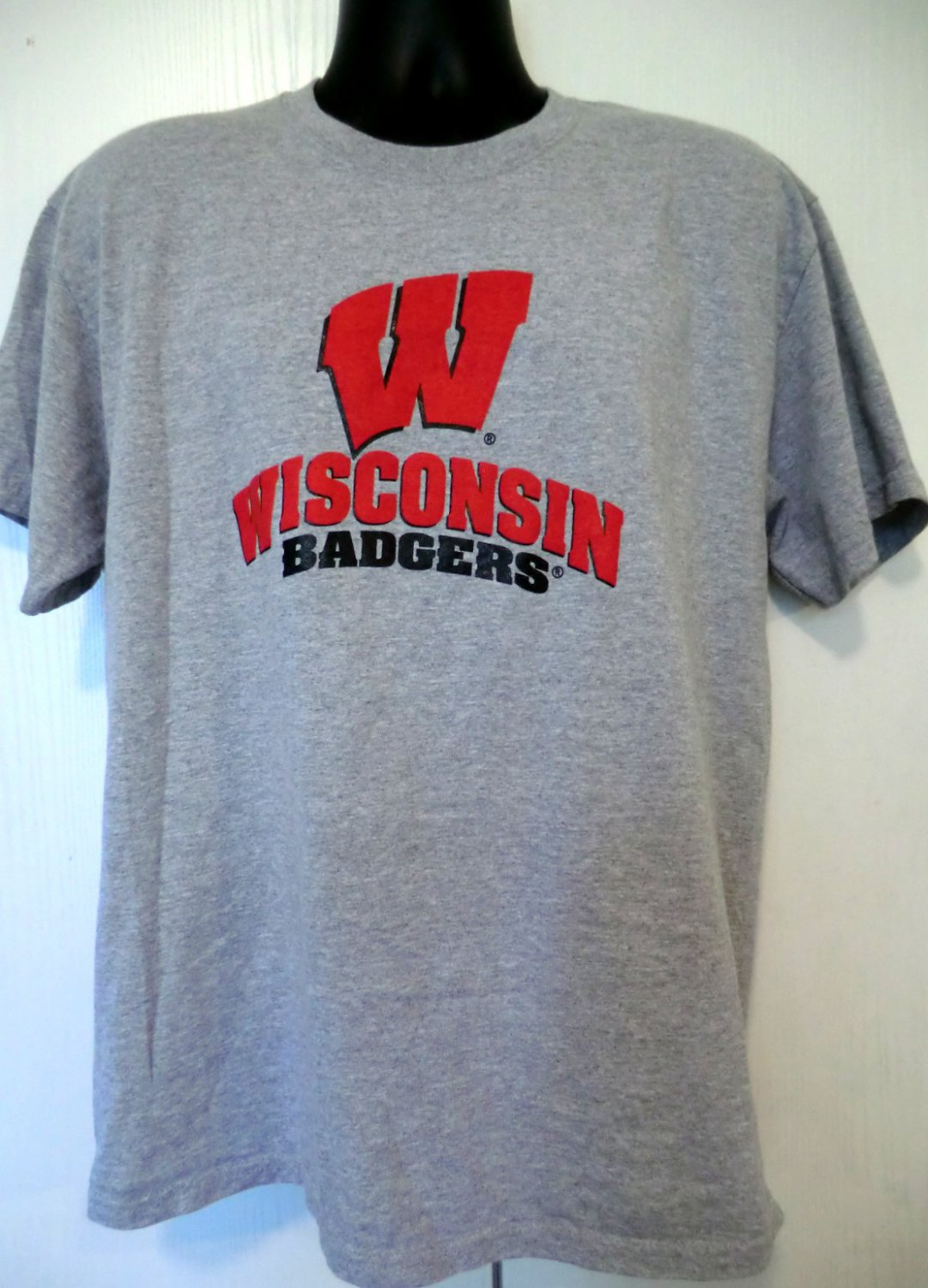 Wisconsin Badgers T-Shirt Size Large University of WI