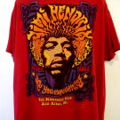 Jimi Hendrix Are You Experienced 5th Dimension Club T-Shirt Size XXL Ann Arbor MI