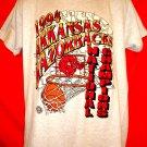 Vintage 1994 Arkansas Razorbacks T-Shirt National Champions Size Large