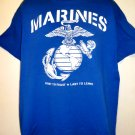 MARINES First to Fight Last to Leave T-Shirt Size XL