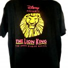 Broadway's Musical The Lion King T-Shirt Size XL London Production Lyceum Theatre