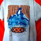 Vintage 1995 Super Bowl XXX T-Shirt Size XL