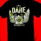 DARE D.A.R.E T-Shirt Camo Resist Drugs and Violence T-Shirt Size Medium