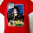 VAN'S WARPED TOUR 2010 T-Shirt Size Large