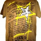 American Soldier SOLDIERS CREED US ARMY T-Shirt Size Large