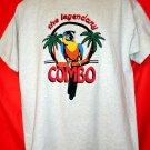 The Legendary Combo T-Shirt Size Large Parrot