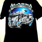 Vintage Harley Davidson ALASKA T-Shirt Size Large Anchorage House Of Harley