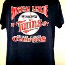 Vintage 1987 Minnesota Twins T-Shirt Size Large