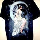 Beautiful Blue Fairy / Angel T-Shirt Size XL NWT New!