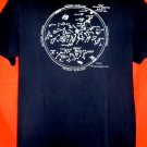 Vintage 1987 Astronomy Winter Sky T-Shirt Size Large
