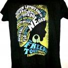 Freedom Tour 2013 2014 T-Shirt Size Medium NEW NWT