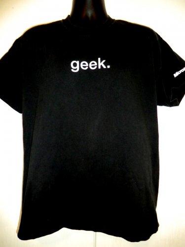 GEEK Definition T-Shirt Size Large Microsoft