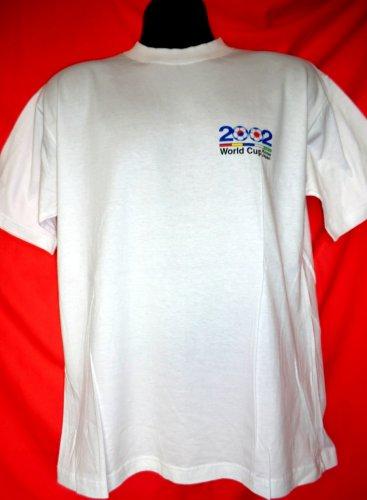 2002 World Cup T-Shirt Korea Japan Size Medium