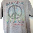John Lennon IMAGINE All The People  PEACE T-Shirt Size XL