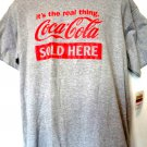 Coca Cola SOLD HERE T-Shirt Size Large NWT New