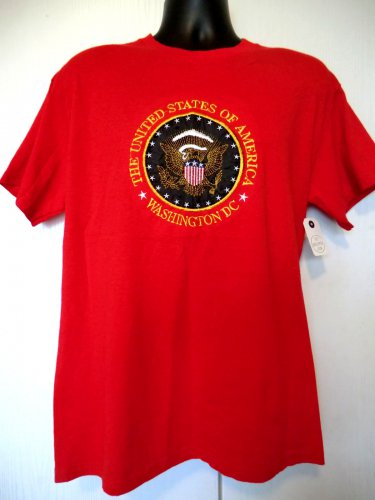 Washington DC T-Shirt Size Medium Red NEW NWT United States of America
