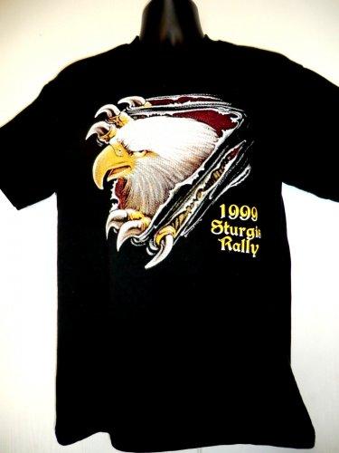 Vintage 1999 STURGIS BIKE RALLY T-Shirt Size Medium