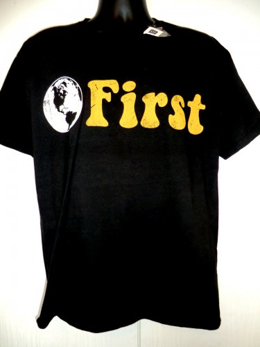 EARTH FIRST T-Shirt Size Large NWT New Global Earth Day