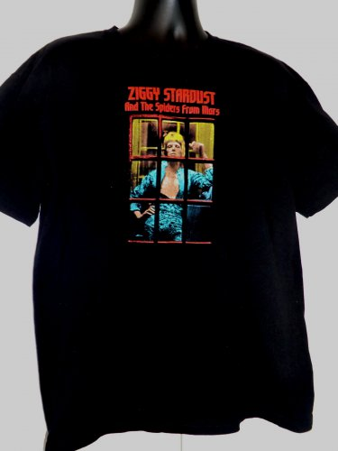 David Bowie Ziggy Stardust And the Spiders From Mars T-Shirt Size XL