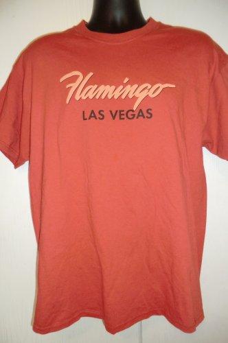 Flamingo Hotel Las Vegas T-Shirt Size Large