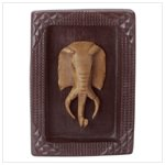 ELEPHANT MASK PLAQUE