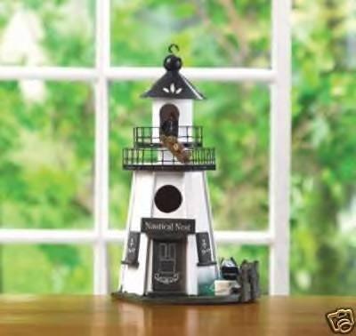 Lighthouse Birdhouse - a lovely nautical nest!!