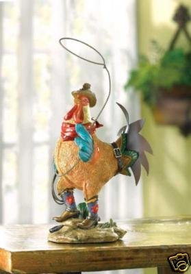 Rooster with Lasso - Colorful, Cute - FREE SHIPPING!!