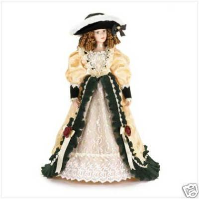 Lady of the Manor Porcelain Doll - FREE SHIPPING!!