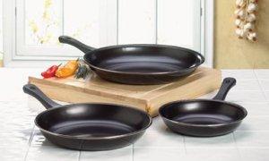 Non-Stick Frying Pan Set - Set of 3 Frying Pans - Nonstick Frying Pans