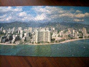 Springbok Panoramic Puzzle ALOHA Honolulu HAWAII Complete! 700 Pieces