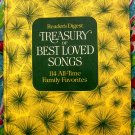 Reader's Digest ~ TREASURY of BEST LOVED SONGS ~ 114 Family Favorites  Songbook 1972