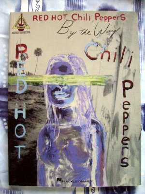 Hal Leonard Red Hot Chili Peppers By The Way Guitar Tab Songbook