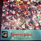Springbok Christmas Puzzle 1994 KEEPSAKE SANTAS 500 Pieces Complete