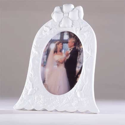 Wedding Bell Picture Frame